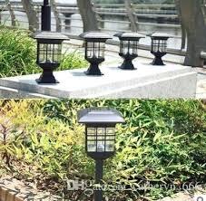solar path light purpose solar path light bronze extra bright led lawn stake lamp outdoor backyard