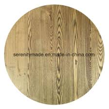 restaurant furniture outdoor round wooden table top