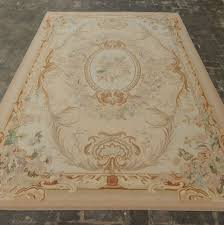 French Design Rugs Old Handmade French Design Original Wool Aubusson Rug