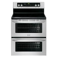 double oven with stove top. Exellent Top Frigidaire 30in Smooth Surface 5Element 35cu Ft35 And Double Oven With Stove Top A