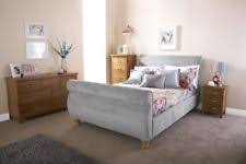 Buy Silver Sleigh Beds Bed Frames & Divan Bases | eBay