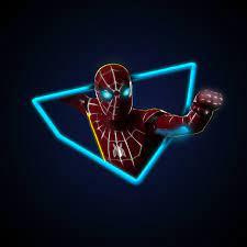 Neon Red Spiderman Wallpaper - Novocom.top