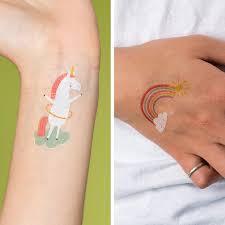 Dětská Sada Tetování Magický Jednorožec Skibi Kids