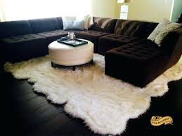 sheepskin area rugs linon faux pink rug black