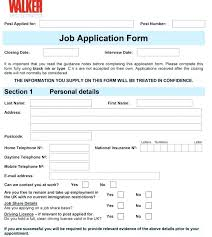Free Downloadable Employment Application Forms Job Application Form Template Employment Applications