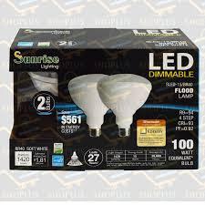 R40 Compact Fluorescent Flood Light Bulbs 2 Pack Br40 Led 15w 2700k Warm White Indoor Outdoor Flood Light Bulbs 100 Watt