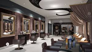 Best Salon Design 2018 Modern Beauty Salon Interior Design In Dubai Hair Nail
