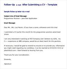 Resume Follow Up Email Entire Closing Date Listing Example Ideastocker