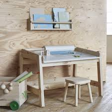 Ikea Flisat Desk With Wall Storage And Stools