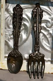 Large Fork And Spoon Wall Decor 17 Best Images About Collectible Spoons And Forks On Pinterest