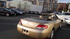 2000 Toyota Camry Solara Convertible Campus Nissan Used Cars ...