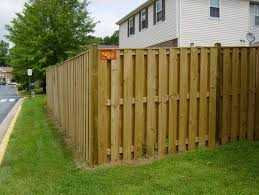 fence styles.  Styles Stockadefence Inside Fence Styles U