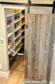 barn door kitchen pantry barn doors for pantry house of fifty kitchens walk in pantry pantry