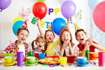 Images & Illustrations of birthday party