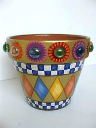 Design For Pot Decoration