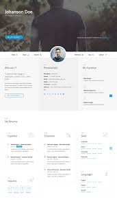 difference customizable html resume template