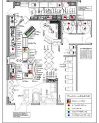 front office layout. Modern Building Layout In 2d And 3d Drawing. Restaurant Floor Plan Front Office