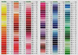 Madeira Embroidery Thread Colour Chart Details About 10 X Madeira Mouline Hand Embroidery Thread