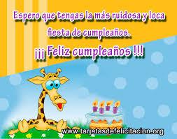 tarjetas de cumplea os para ni as tarjetas de cumpleaños para un niño tarjetas de felicitación