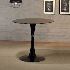 small round glass dining table office furniture promotion malaysia kuala lumpur setia alam cheras3