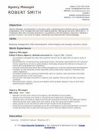 Auto Service Manager Resumes Agency Manager Resume Samples Qwikresume