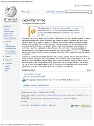 expository writing the encyclopedia expository writing the encyclopedia essays