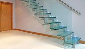 glass staircase design view in gallery wood and glass staircase railing designs