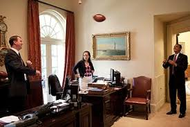 recapturing oval office. President Barack Obama Tosses A Football With Trip Director Marvin  Nicholson In The Outer Oval Office On June 26, 2009. Personal Secretary Katie Johnson Recapturing Oval Office P