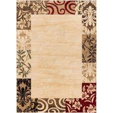 barclay vane willow damask beige 8 ft x 10 ft transitional area rug