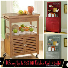 Jcpenney Kitchen Furniture Jcpenney Save On Mandalay Bamboo Kitchen Cart Lindale Buffet