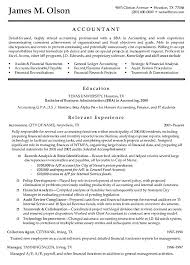 Accounting Resumes Samples Extraordinary Sample Resume For Accounting Internship Baxrayder