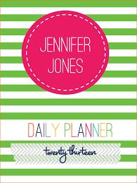 Custom Daily Planner Custom Daily Planner Ganttchart Template
