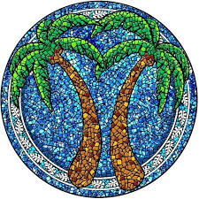 simple mosaic art templates roman design easy stained glass pattern patterns for beginners