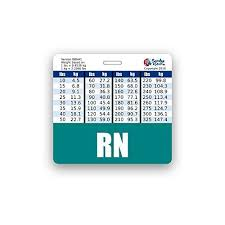 Rn Badge Buddy Horizontal W Height Weight Conversion