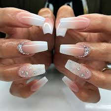 Coffin Designs 20 Worth Trying Long Stiletto Nails Designs White Coffin Nails