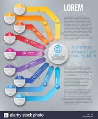 Arrows Infographic Template Stock Vector Art Illustration Vector