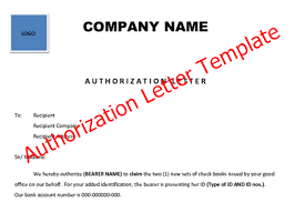 8 Best Authorization Letter Template Formats And Samples