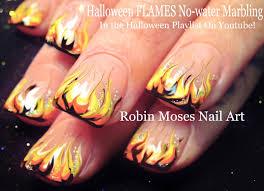 Robin Moses Nail Art: Cute Halloween Skeleton Nails!