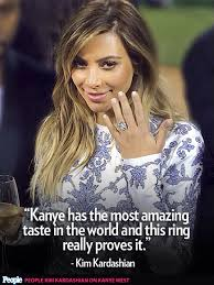 Kim Kardashian Quotes Magnificent Kim Kanye's Crazy In Love Quotes PEOPLE