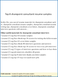 sharepoint developer resume top 8 sharepoint consultant resume samples 1 638 cb sharepoint