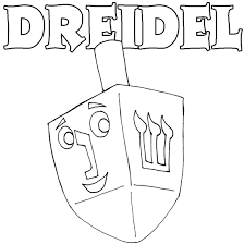 Small Picture 8 Images of Coloring Dreidel Page Clip Art Coloring Pages