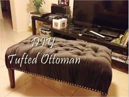 diy tufted ottoman bench you coffee table maxresde