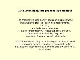 Manufacturing Process Design Input Ts16949 2002 Overview Ppt Download