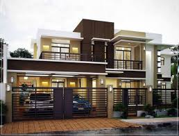 2453 Square Feet (228 Square Meter) (272 Square Yards) 4 Bedroom Attached Modern  House Exterior. Designed By A CUBE Builders U0026 Developers.
