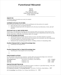 Functional Resume Format Best Functional Resume Format Example Resume And Cover Letter Resume