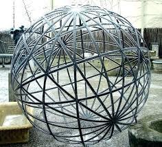metal garden spheres garden spheres metal large sphere metal garden art sculpture rusty metal garden spheres