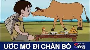 1️⃣ƯỚC MƠ ĐI CHĂN BÒ - Phim hoạt hình - Truyện cổ tích - Khoảnh khắc kỳ  diệu ™️ Hayhd.vn