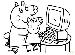 peppa pig coloring pages free coloring pages coloring pages for adults 1024x746 peppa pig coloring pages on coloring book printable coloring pages on coloring book pig