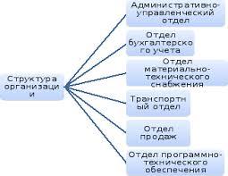 Технико экономическая характеристика ооо Наш Дом  Структура организации ООО Наш Дом представлена на рис 1 1