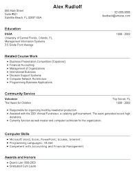 Sample Resumes For High School Students With No Experience Resume High  School Student No Experience First